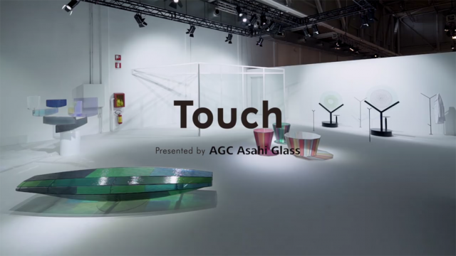 "AGC Asahi Glass ""Touch"" at Milan Design Week 2017"